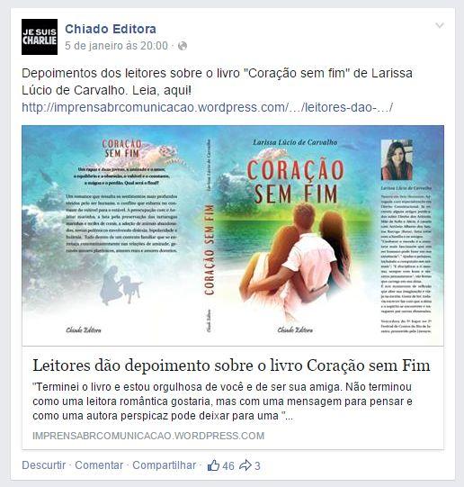 Publicação feed Chiado 05 01 2015 20h